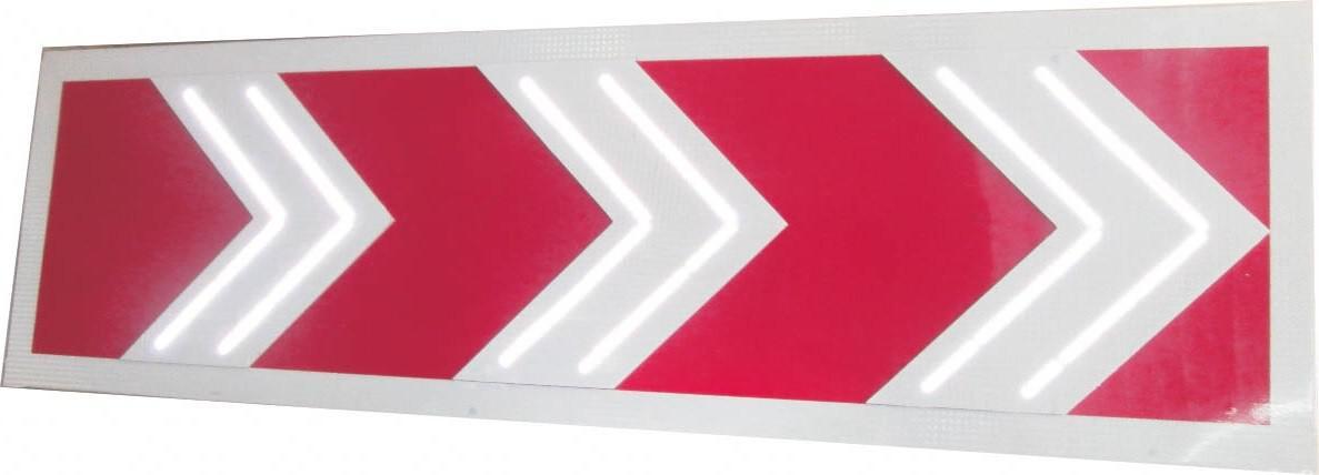 Знак светодиодный (1.34.1-1.34.3), 12В 500x1160 мм (без канта / с кантом)