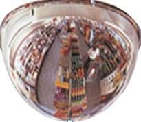 Зеркало для помещений купольное 800 мм
