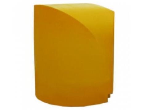 Пластиковый осевой дорожный буфер Длина – 1350 мм, Высота – 1350 мм, Ширина – 1350 мм. (Без маски)