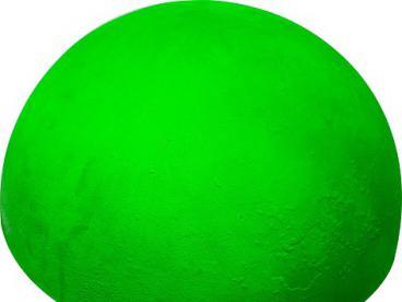 Полусфера бетонная d500х340 мм увеличенная неон (красная, зеленая, лимонная)