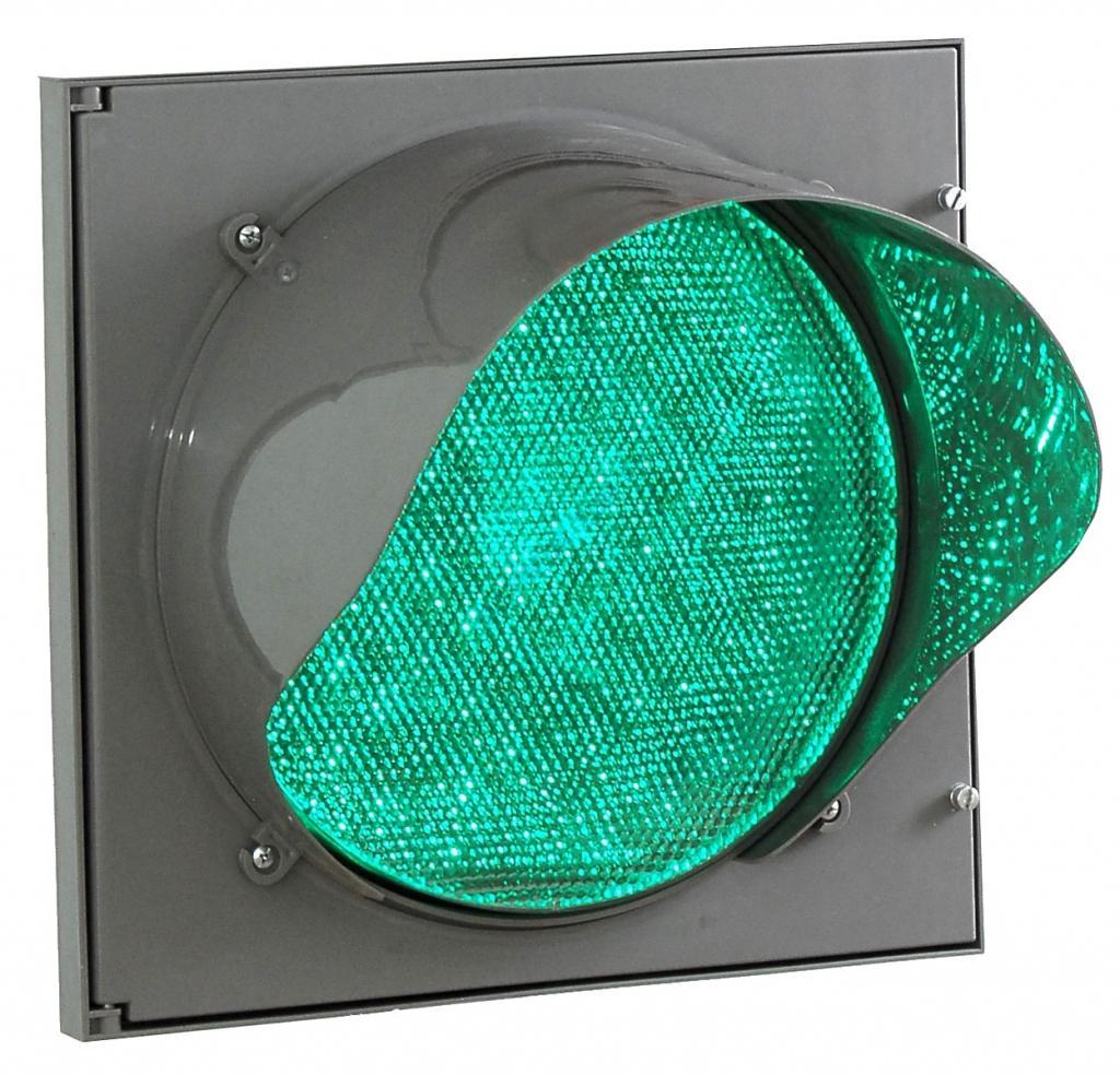 Светофор светодиодный Т.12.1, d200мм (крепление в комплекте)
