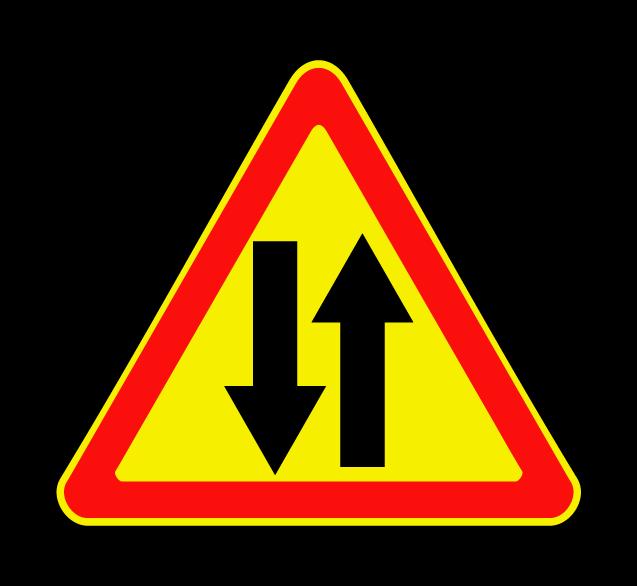 Двустороннее движение 1.21 (временный)