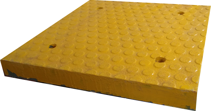 Серединный элемент жёлтый, 500*500*50 мм, вес 18 кг