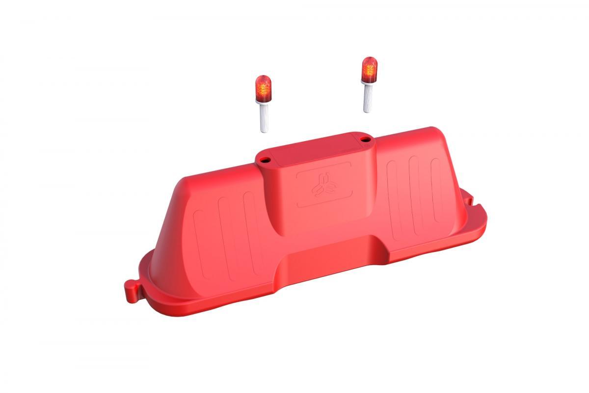 Пластиковый водоналивной барьер 2000*500*800 мм