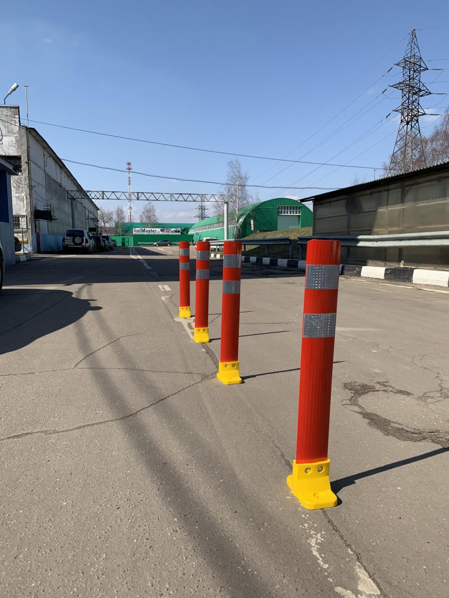 Сигнальный дорожный столбик Стилфлекс С3П