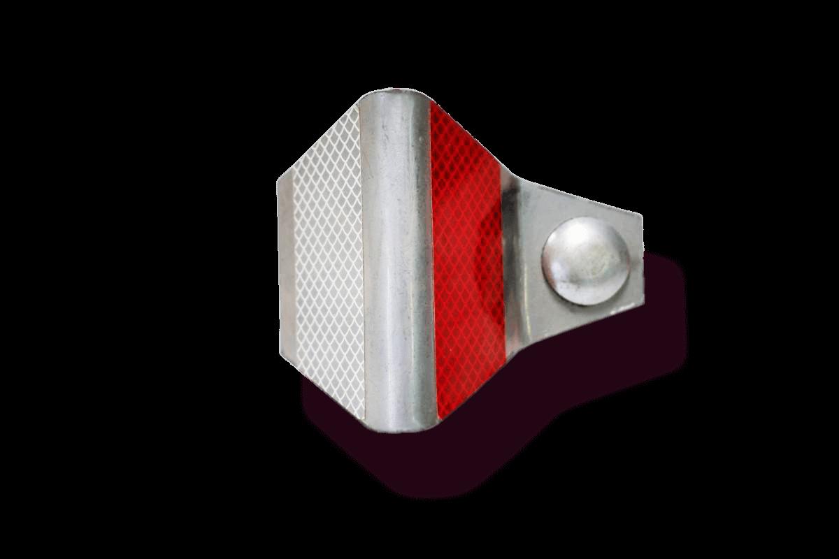 Световозвращатель дорожный резиновый / металлический (ГОСТ)