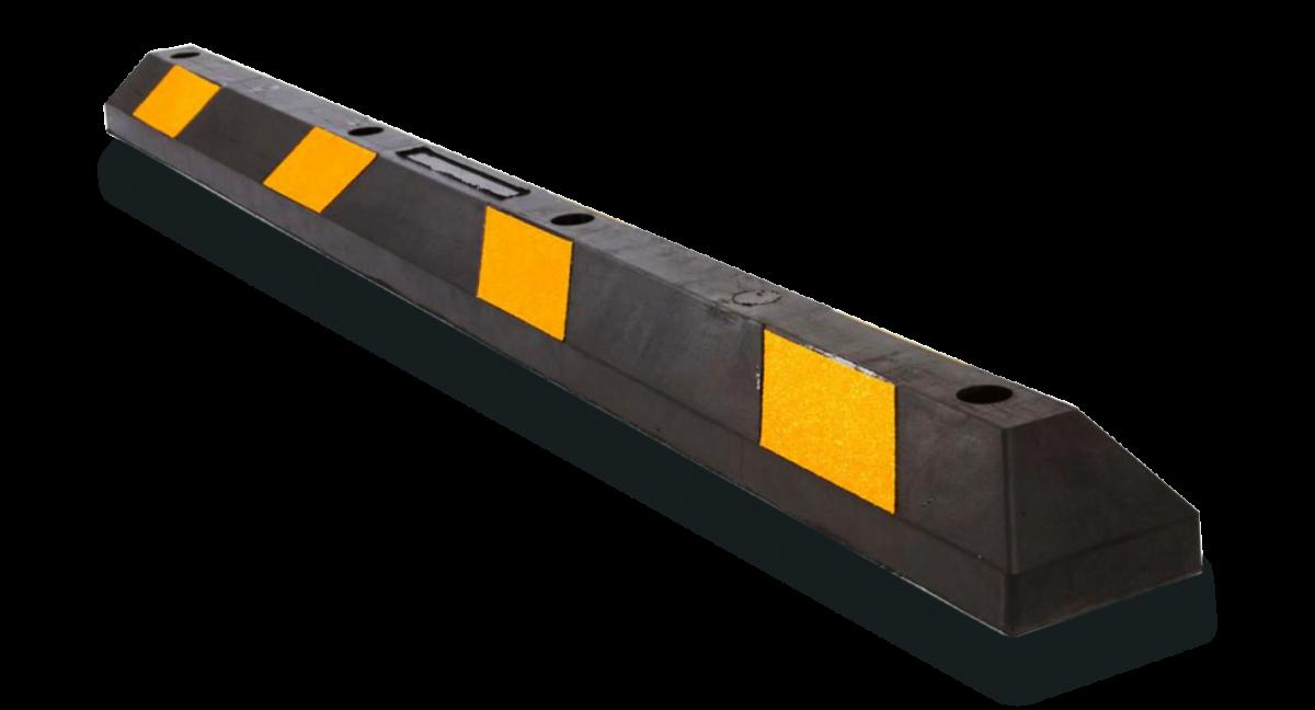 Колесоотбойник (делиниатор) резиновый 1,83м (1830х150х100)